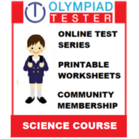 Class 4 Science Olympiad Course (100+ Online tests, 220 Printable worksheets)