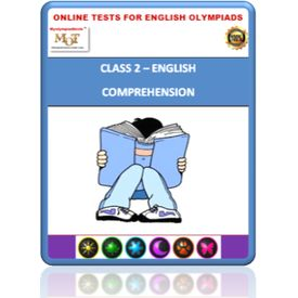 Class 2, Comprehension, Online test for English Olympiad