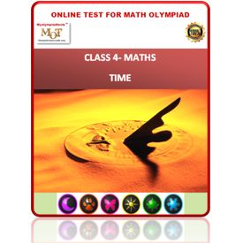 Class 4, Time, Online test for Maths Olympiad