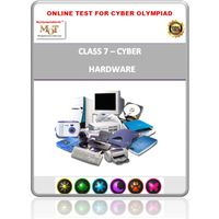 Class 7, Hardware, Online test for Cyber Olympiad