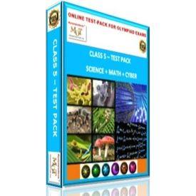 Class 5, Online test pack, Science+ Math+ Cyber