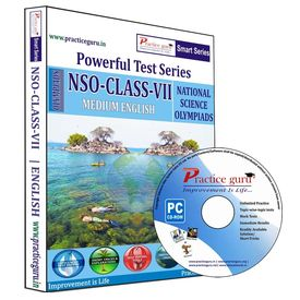 Class 7- NSO Science Olympiad- Powerful test series (CD)