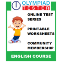 Class 4 English Olympiad course (Online test series+ 120 Printable Worksheets)