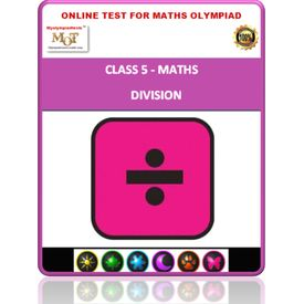 Class 5, Division, Online test for Math Olympiad