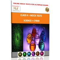 Class 4, Online topic wise tests, Science+ Cyber- MOT