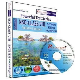 Class 8- NSO Olympiad preparation- Powerful test series (CD)
