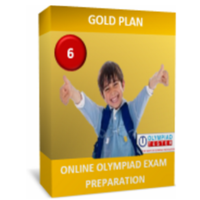 Class 6, IMO preparation, Gold Plan (Online Sample questions, mock tests and worksheets)