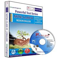 Class 6- NSTSE Olympiad preparation- Powerful test series (CD)