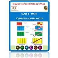 Class 8, Squares & Square roots, Online test for Math Olympiad