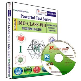 Class 8- IMO Olympiad preparation- Powerful test series (CD)