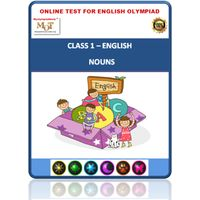 Class 1- Nouns- Online test for English Olympiad