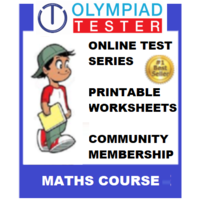 Class 1 Maths Olympiad Course with Printable worksheets and online test series