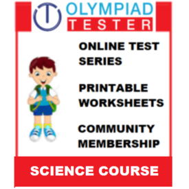 Class 3 Science Olympiad Course- (100+ Online tests+ 120 Printable worksheets)