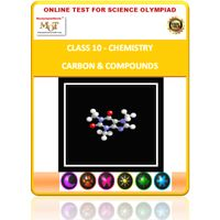 Class 10, Chemistry, Carbon & Compounds, Online test for Science Olympiad