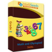 Class 2- Maths Olympiad (Including Reasoning) - 3 months- Intelliseeds