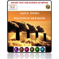 Class 5 Science Worksheets - Pollution & Calamities