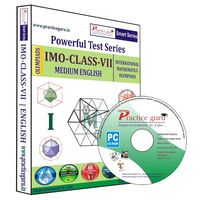 Class 7- IMO Olympiad preparation- Powerful test series (CD)
