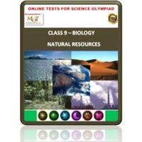 Class 9, Natural resources, Online test for Science Olympiad