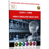 Class 4, Online topic wise tests, Cyber- MOT (BMA's Reasoning trainer plus worth Rs 175 for FREE)