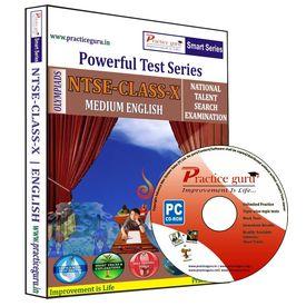 Class 10- NTSE preparation- Powerful test series (CD)