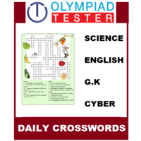 Class 5 Daily Crosswords- 200 Printable puzzles