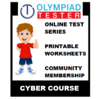 Class 5 Cyber Olympiad course (Online test series+ Printable Worksheets+ Community Membership)