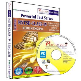 Class 4- NSTSE Olympiad preparation- Powerful test series (CD)