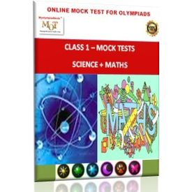 Class 1, Online Mock tests, Science+ Math