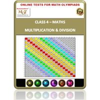 Class 4, Multiplication & Division, Online test for Math Olympiad