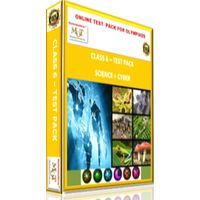 Class 6, Online test pack, Science+ Cyber