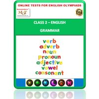 Class 2, Grammar, Online test for English Olympiad