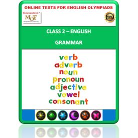 Class 2, Grammar, Online test for English Olympiad