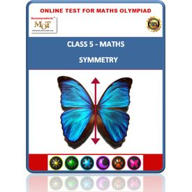 Class 5, Symmetry, Online test for Math Olympiad