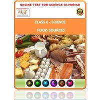 Class 6 Science Worksheets- Food and it's components