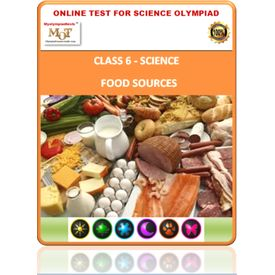 Class 6 Science Worksheets- Food and it s components