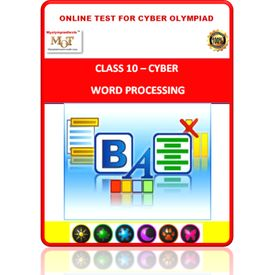 Class 10, Word Processing, Online test for Cyber Olympiad