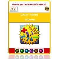 Class 6, Decimals, Online test for Math Olympiad