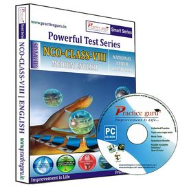 Class 8- NCO Olympiad preparation- Powerful test series (CD)