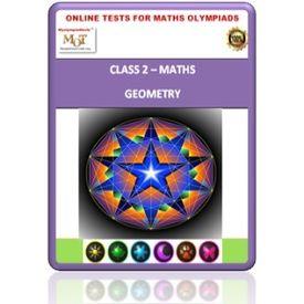 Class 2, Geometry, Online test for Math Olympiad