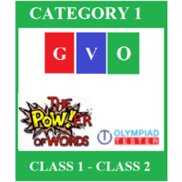 Online Global Vocabulary Olympiad (GVO) - Category 1 (Class 1- Class 2)