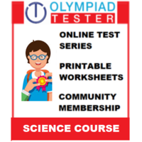 Class 5 Science Olympiad Course (100+ Online tests+ 210 Printable worksheets)