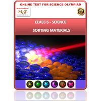 Class 6, Sorting materials into groups, Online test for Science Olympiad