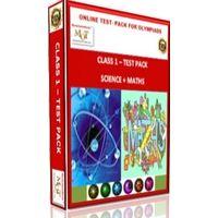Class 1, Online test pack, Math+ Science