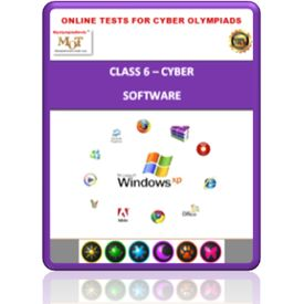 Class 6, Software, Online test for Cyber Olympiad