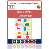 Class 6, Mensuration, Online test for Math Olympiad