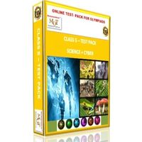 Class 5, Online test pack, Science+ Cyber