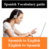 Spanish Vocabulary with English Translation and quizzes- Beginners guide