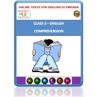 Class 3, Comprehension, Online test for English Olympiad