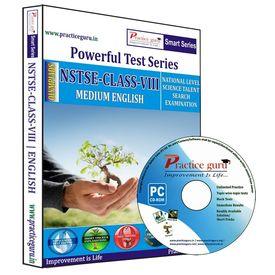 Class 8- NSTSE Olympiad preparation- Powerful test series (CD)