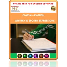 Class 4, Expressions, Online test for English Olympiad